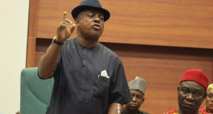 Secondus to Buhari: Work with state governors to tackle insecurity