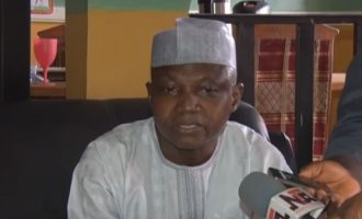 Garba Shehu: Those who lost out under Buhari are trying to blackmail him
