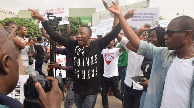 Shi'ites appoint Sowore patron of Free Zakzaky Movement