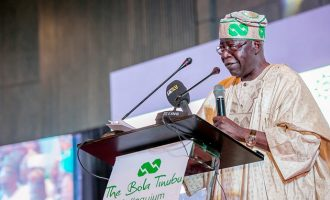 Tinubu: Leave a naira in a room with Buhari, you'll meet it when you return