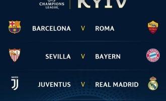 Champions League draw review: Big guns kept apart