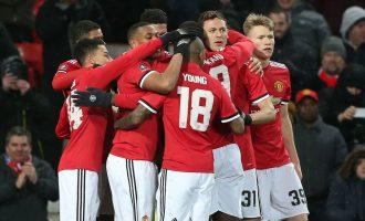 Manchester United advance into semi final of FA Cup