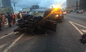 Four die in Lagos auto crash caused by driving against traffic