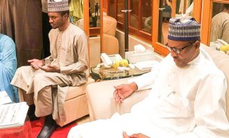 'The sycophancy is sickening' — reactions as ministers, governor 'abandon duty' to welcome Buhari's son