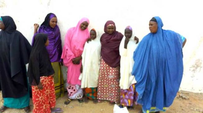 Freed Dapchi schoolgirls return home, reunite with parents