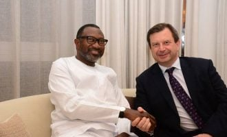 Otedola canvasses UK, US investments for Nigeria