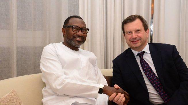 Otedola canvasses UK, US investments for Nigeria