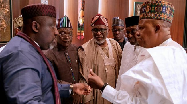APC govs endorse Buhari for second term, say 'he must go ahead with his vision'