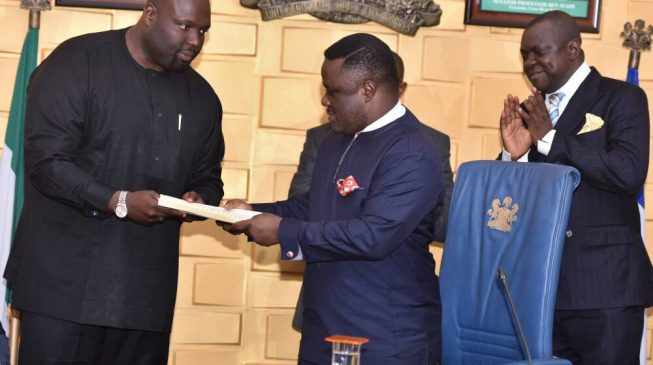 Ayade weeps as he signs record N1.3trn budget into law