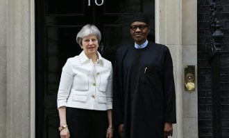 VIDEO: Buhari meets Theresa May