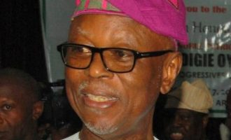 Oshiomhole absent as Secondus leads PDP bigwigs to Oyegun's birthday