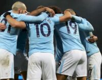 Manchester City win English Premier League