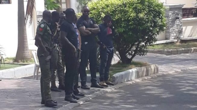 Melaye trapped as police, DSS lay siege to his residence (updated)