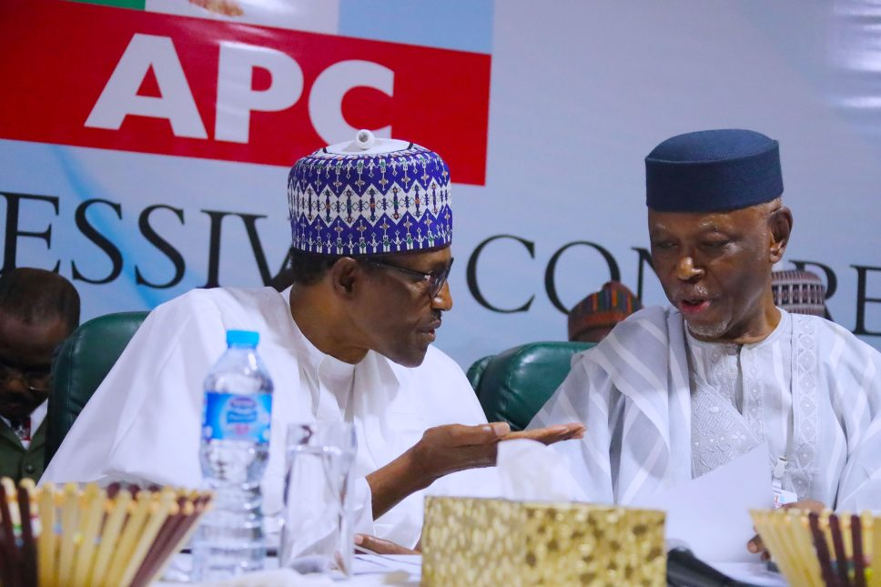 Buhari, Saraki attend APC NEC meeting