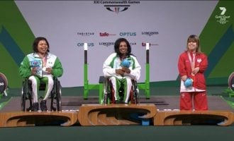 Commonwealth Games: Nigerian para powerlifter sets new world record to win gold