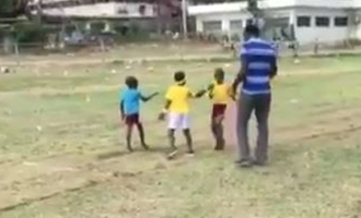 TRENDING VIDEO: Young runner hilariously turns relay race on its head
