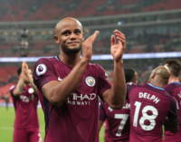Man City one win from title; Giroud inspires Chelsea win