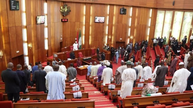 Rowdy session as senate suspends confirmation of EFCC nominees