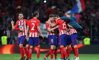 Atlético to meet Marseille in Europa League final