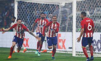 Atlético win third Europa Cup title
