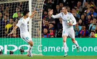 Bale rescued draw for Real Madrid against unbeaten Barcelona