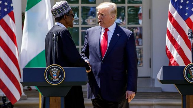 'We're allies in fight against terrorism' — Trump congratulates Nigeria at independence
