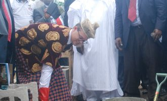 Foundation for Thompson and Grace Medical University laid in Akwa Ibom