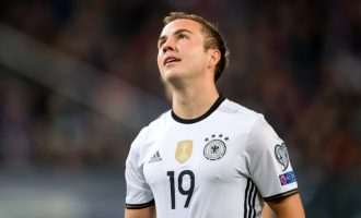 Germany World Cup party: Gotze dropped