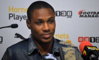 My brace against Libya is a birthday gift to my son, says Ighalo