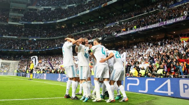 Real Madrid through to Champions League final