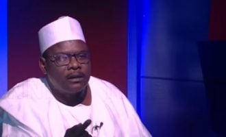 Ndume: With Atiku as PDP candidate, 2019 election a walkover for Buhari