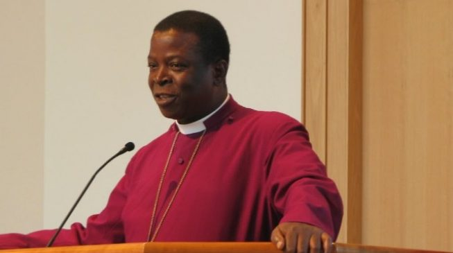 Anglican primate describes act of blaming past governments as 'moral evil'