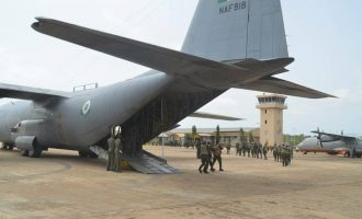 Air force unveils identities of personnel killed in Borno crash