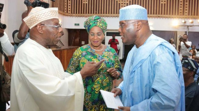 APC cries out: Obasanjo lobbying US to withdraw Atiku's visa ban