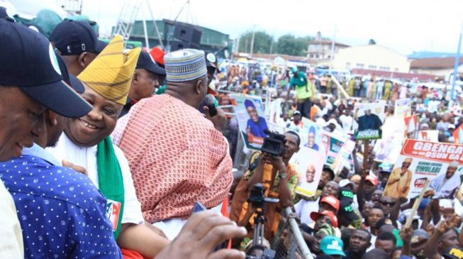 Osun governorship battle