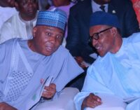 Saraki: PDP will pressure Buhari's government to rescue Nigeria from insecurity