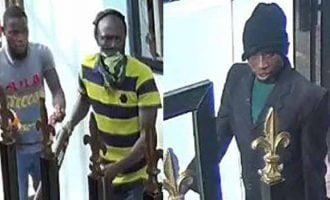 PHOTOS: Police release CCTV footage of Offa 'robbers'