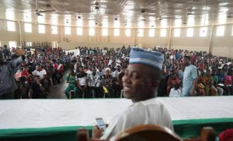 Sowore vows to liberate Kwara, says 'Saraki will be jailed'