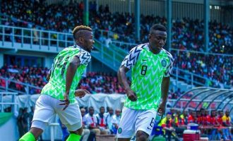 Super Eagles draw with DR Congo