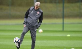 I can still play football, says Wenger