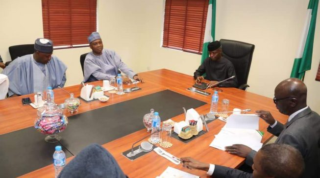 nPDP cancels dialogue with Osinbajo, protests withdrawal of Saraki, Dogara security aides