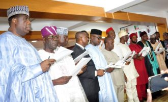FULL LIST: APC chairpersons inaugurated by Oyegun