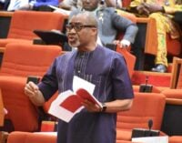 Abaribe: Armed forces bill was rejected because senators thought it was against Buhari