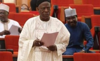 Senator Adamu calls for audit of 'messed up' n'assembly finances