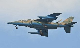 Air force jet bombs Boko Haram hideout in Borno