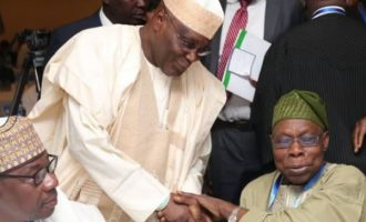 Atiku not a messiah but he's two times better than Buhari, says Obasanjo