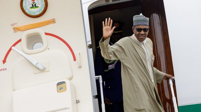Does Buhari hide his sh*t like North Korea's Kim Jong-Un whenever he travels abroad?