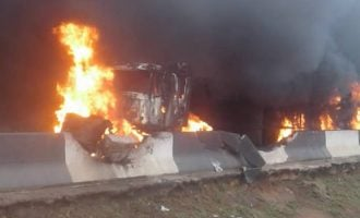 VIDEO: Burnt vehicles in Lagos tanker fire