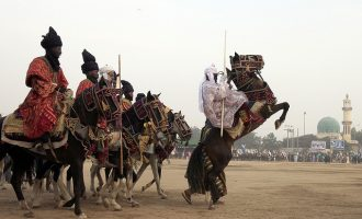 10 riders fall off horses during Sallah durbar in Jigawa