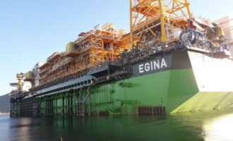 Total: Egina FPSO moving to site soon